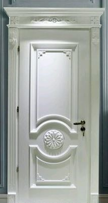 Pintu kamar ukir jati jepara