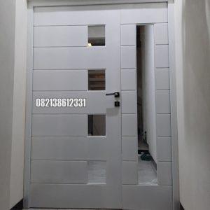 Pintu Minimalis Asimetris Kombinasi Kayu Dan Kaca Ideas 2021