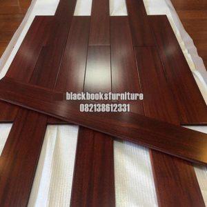 Flooring Lantai Kayu Jati Solid Kuat Tahan Lama