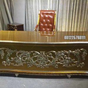Meja dan Kursi Kantor Presiden Kayu Jati Kualitas Tinggi